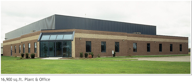16,900 sq. ft. Plant and Office