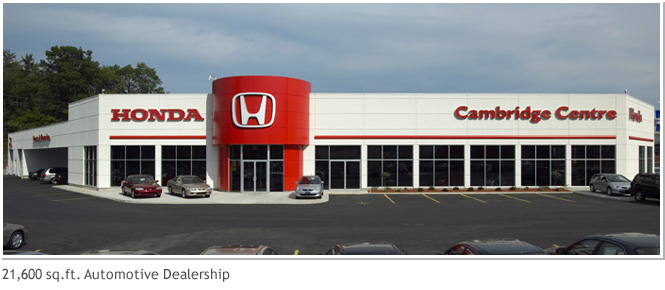 21,600 sq. ft. Automotive Dealership