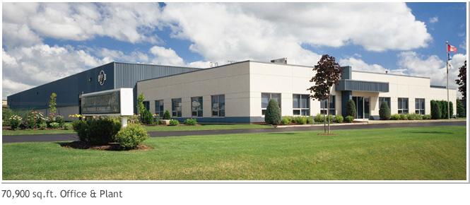 70,900 sq. ft.  Office and Plant