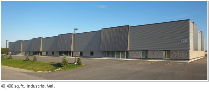 40,400 sq. ft. Industrial Mall