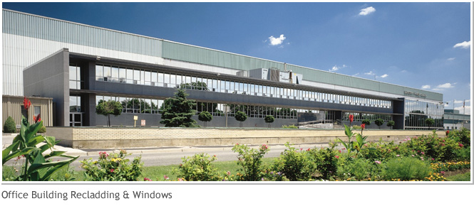 Office Building Recladding and Windows