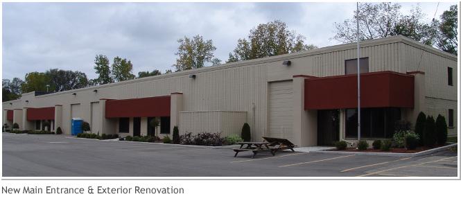 New Main Entrance and Exterioe Renovation